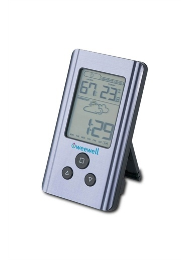 Weewell Weewell Dijital Nem Ve Sicaklik Ölçer Higro Termometre Whm150 Pembe